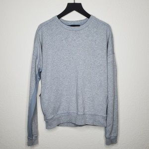 Under Armour Grey Mesh Accent Pullover Sweater